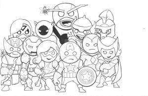 Avengers Assemble by MARR-PHEOS