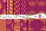 Indian Saree Paper Pack - Pink by naga-pree