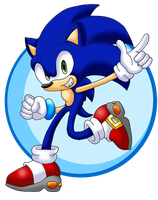 Sonic Adventure Upgrades: Sonic by Seltzur-The-Hedgehog