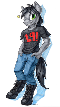 L9 Anthro by Snacky-Bites
