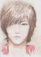 Yesung - Just A Quick Sketch by rikurikuri