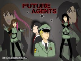 Commission - Future Agents by K-ame