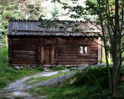 Old cottage 3 by jusuart-stock