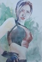Tomb Raider - Lara Croft modelled by Ellen-Mart by aureolin-swatch