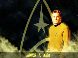 Captain James T. Kirk by KadouCreations