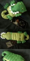 Gary the Gator Case by kireihiryu