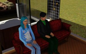 Sims 3 - Lucette and Erich by moonofheaven1