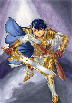 Prince Alfonse of Askr by yueyuetan