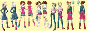 Kids in fashion by SolDevia