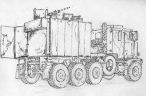 US Military vechicle in Iraq 3 by BROKENHILL