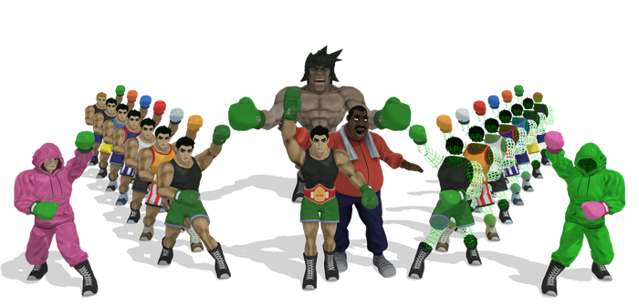 [MMD] SSB Little Mac Wii U + DL by ShadowlesWOLF