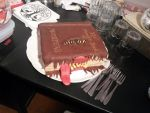 Harry Potter themed cake: The Monsterbook of Monst by Cocanne
