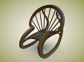 Daily3D 336 -- Rocking Chair by Morichalion