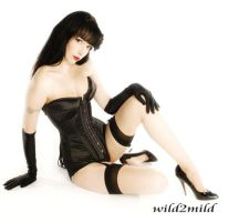 Samantha Black Corset Doll 2 by bettiepageclub
