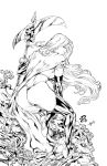 Cover Lady Death I Pencil Renato Camilo - Inks by eHillustrations