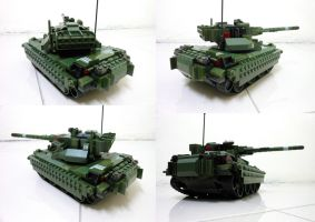 Lego Compact Tank 12.2 by SOS101