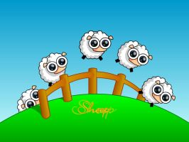 long live sheep by Gwi