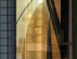 stairway of glass by Mavali