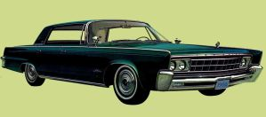 After the age of chrome and fins : 1966 Imperial by Peterhoff3