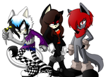 Main OC's by cassidythehedgehog1