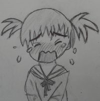 Crying chibi character by Chaz1029