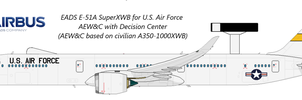 EADS E-51A SuperXWB for USAF by O530Fn94XWB