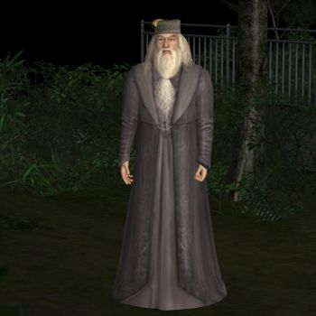 Harry Potter 5 - Albus Dumbledore by jc-starstorm