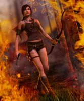 Like a Croft 2... Aicka by Pitoxlon