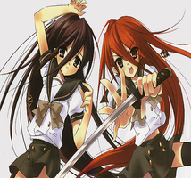 shakugan no shana by elicise808