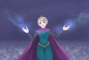Elsa -Frozen by security-blanket