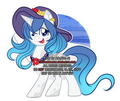summer pony Auction (CLOSED) by xWhiteDreamsx