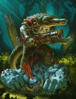 Privateer Press - Iron Kingdoms Unleashed - Monste by Lothrean