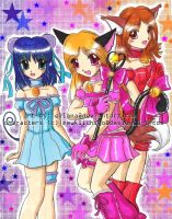 Mew Mew Trio - Kiichigo by ellana