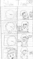 Slow Time prt 1 PENCIL by Ichigo2123