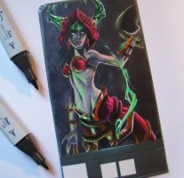 Jade Fang Cassiopeia by Josilix