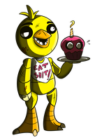 CHICA GOT SASS by theStupidButterfly