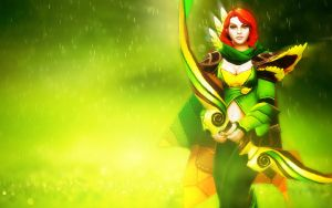 Windranger Wallpaper (1920x1200) by TruePrince