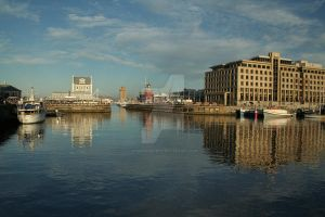 Reflections on the Waterfront by SiostraWaleta