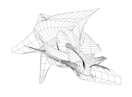 Wireframe 1 by shk828