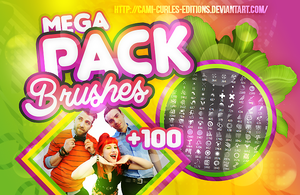 + MEGA PACK: BRUSHES | by CAMI-CURLES-EDITIONS