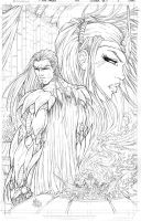All New Soulfire #5 Cover A Pencils by vmarion07