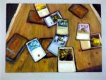 Magic Cards and Dice by Orstarion