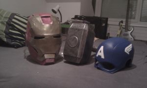 I'm Iron Man, Thor and Captain America.... by EyeofSauron