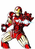 Iron man mark VI by Shinjigo