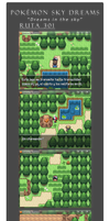 Route 301 and one screenshot of the Route 302 by Lordkazeh