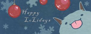 Happy Loliday Facebook Cover by Nyanfood