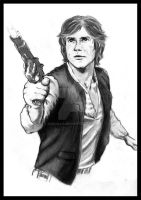 Star Wars - Han Solo by Breogan