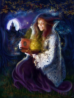 Tessie-Enchanted Music Box-Front Cover by tessieart333