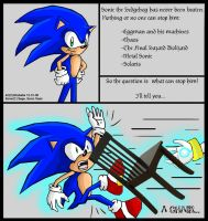 Can Sonic be defeated? by Dbzbabe