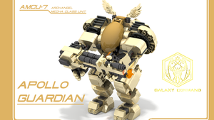 Apollo Mecha by theomegareaper101